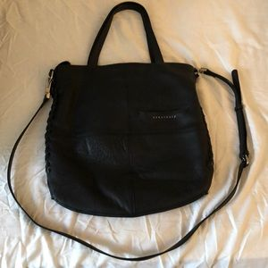 Sanctuary tote with adjustable crossbody strap